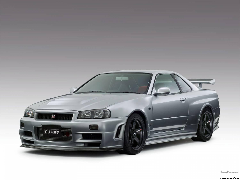 Nissan Skyline GTR-R34 V-Spec (много фото) .